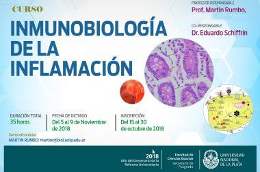 """Curso de Posgrado: """"Inmunobiología de la Inflamación"""""""