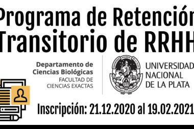 Apertura Convocatoria Programa RRHH 2021